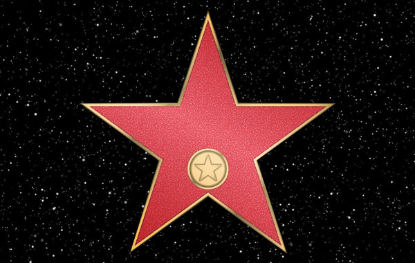 Hollywood Star Walk of Fame in California